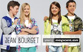 Young Reporter, Born, Jean Bourget