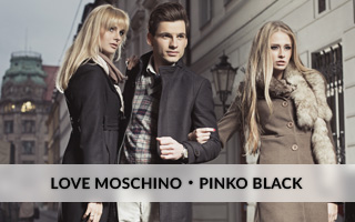 PINKO BLACK, JUST CAVALLI