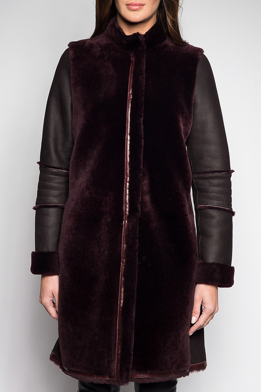 SHEEPSKIN COAT Giorgio Дубленки длинные sheepskin coat giorgio valenti sheepskin coat
