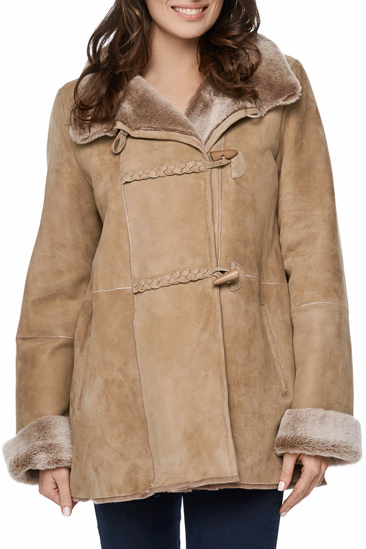 sheepskin coat Jean Guise Дубленки тонкие sheepskin coat jean guise