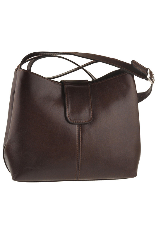 Фото - bag Latteemilie цвет dark brown
