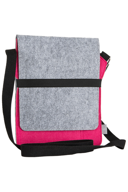 Фото - bag for tablet Burgmeister цвет pink and gray