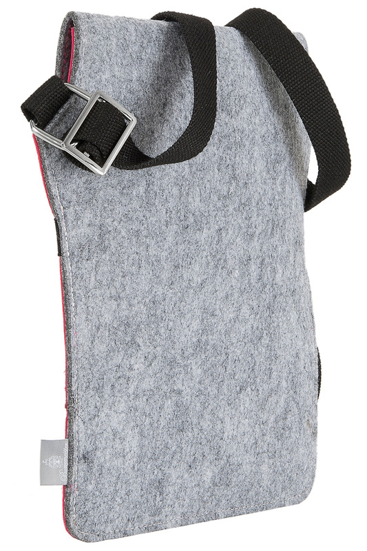 Фото 2 - bag for tablet Burgmeister цвет pink and gray