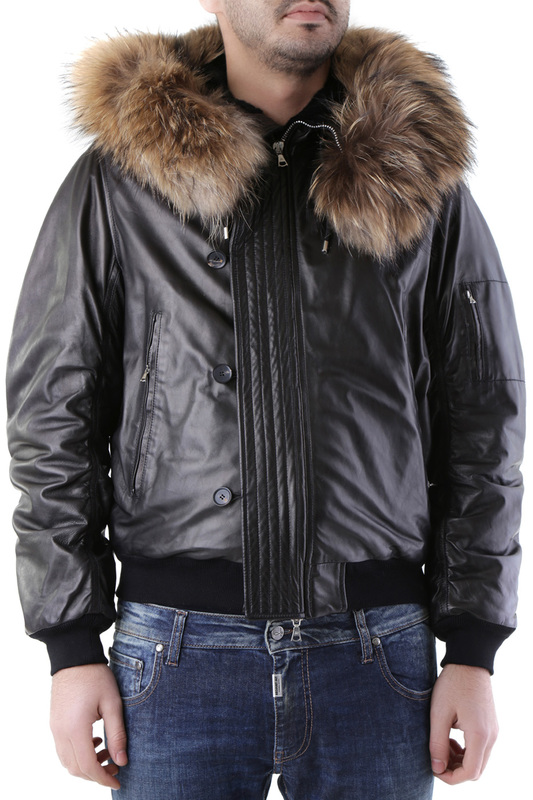 jacket John Richmond Куртки в стиле пилот (бомбер) fur jacket john richmond fur jacket href