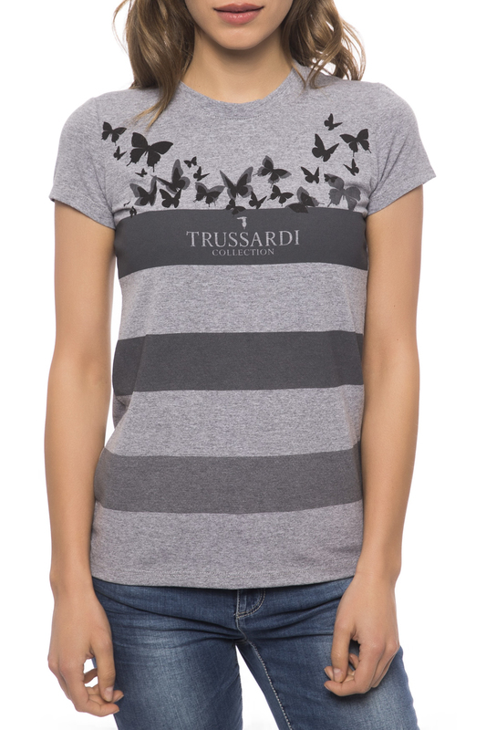 T-shirt Trussardi Collection T-shirt швейная машинка first 8 марта женщинам