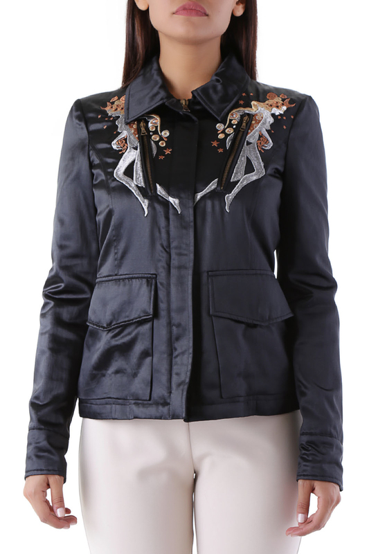 jacket John Richmond Плащи с капюшоном fur jacket john richmond fur jacket href