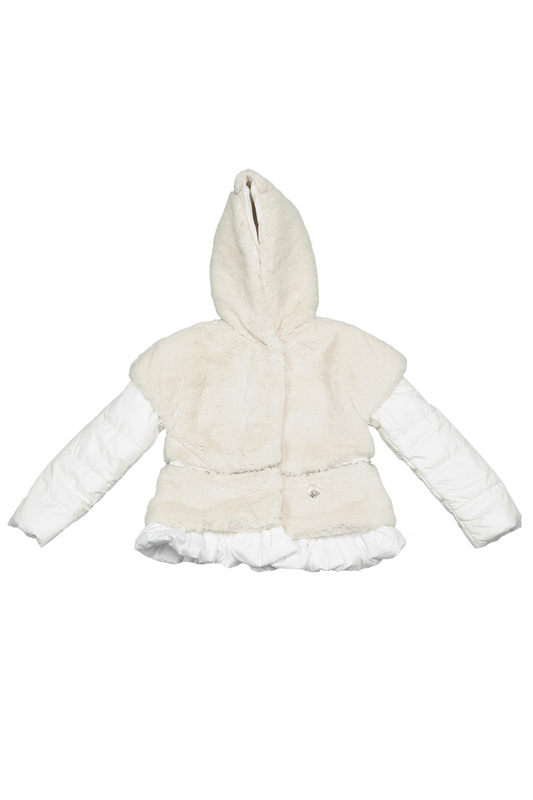 FAUX-FUR JACKET BABY BLUMARINE FAUX-FUR JACKET fur jacket john richmond fur jacket href