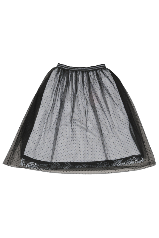 SKIRT W/EMBROIDERY Miss Blumarine SKIRT W/EMBROIDERY skirt joins