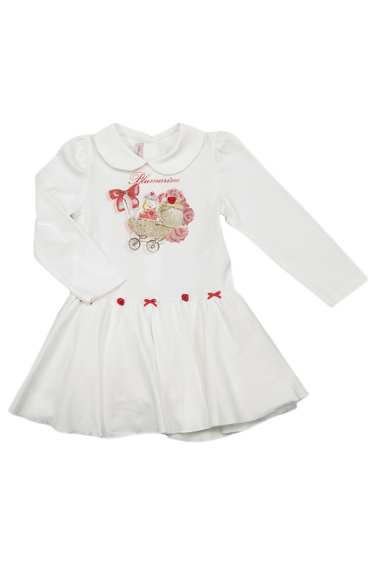 DRESS IN A BOX NEONATO BLUMARINE DRESS IN A BOX rompers in a box blumarine newborn rompers in a box
