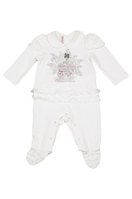 ROMPERS IN A BOX BLUMARINE NEWBORN ROMPERS IN A BOX колье с аметистом bronze rebecca