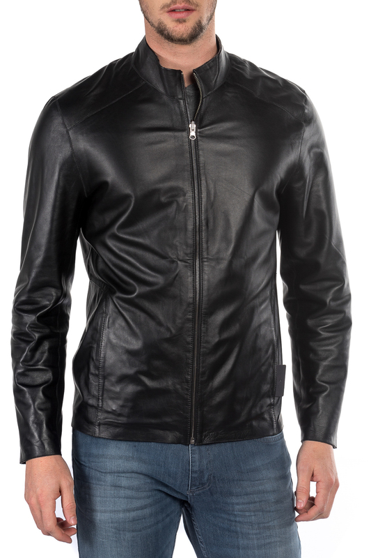 leather jacket MIO CALVINO Куртки косухи ветровка gulliver baby ветровка