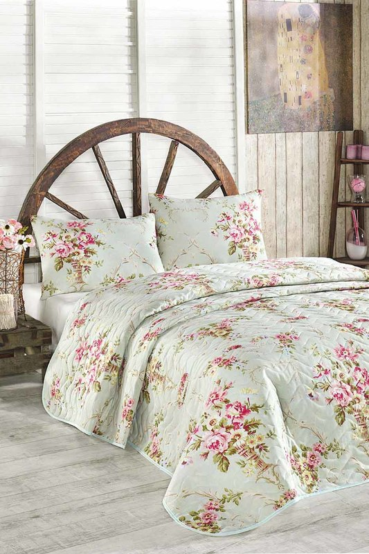 Single Quilted Bedspread Set Eponj home Постельное белье с рисунком набор home sweet home keenway набор home sweet home