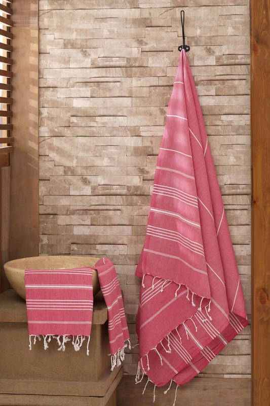 Towel Set (2 Pieces) Eponj home Towel Set (2 Pieces) бритва 2 кассеты gillette