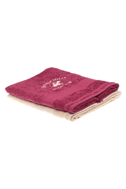 Set (2 Pieces), 60x110 Beverly Hills Polo Club Set (2 Pieces), 60x110 wash towel set 6 pc bahar home wash towel set 6 pc