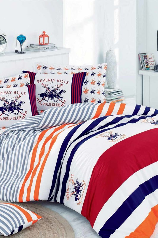 bed linen, 1,5 SP Beverly Hills Polo Club Постельное белье с рисунком want pink ginger 50 мл dsquared2 want pink ginger 50 мл