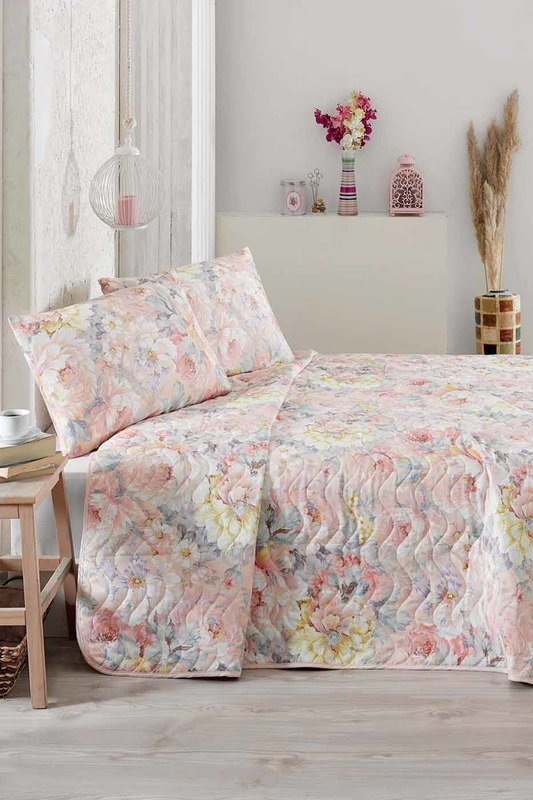Double Quilted Bedspread Set Eponj home Double Quilted Bedspread Set double quilted bedspread set eponj home постельное белье с рисунком