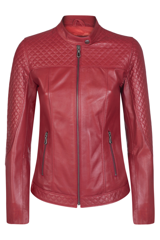 leather jacket GIORGIO DI MARE