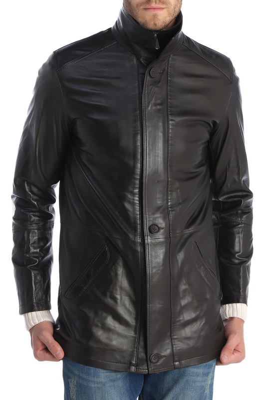 leather jacket GIORGIO DI MARE leather jacket пальто electrastyle пальто короткие