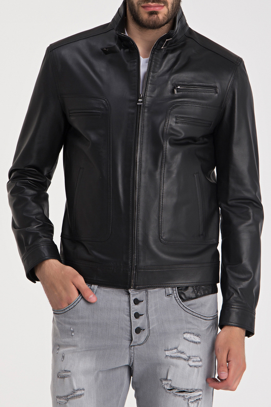 Leather Jacket IPARELDE Leather Jacket органайзер 5 отд 100х32х11 homsu