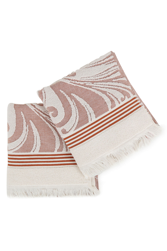 Hand Towel Set (2 Pieces) BAHAR HOME Hand Towel Set (2 Pieces) папка vera victoria vito папка