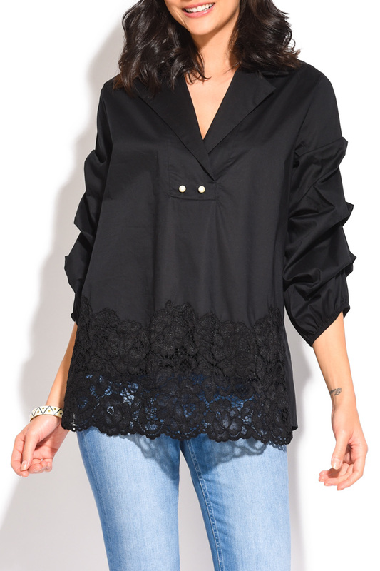 blouse YOURS PARIS blouse бомберы eleven paris бомбер