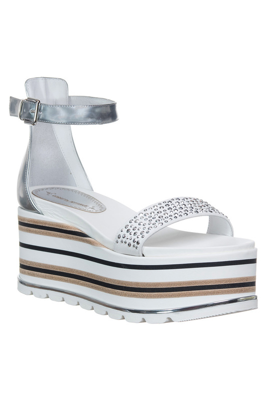 platform sandals Loretta Pettinari platform sandals комбинезон conso комбинезон