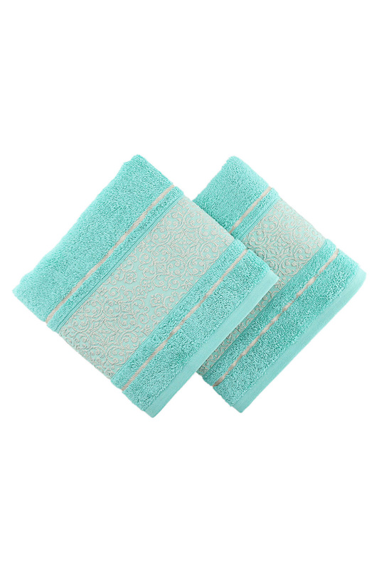 Hand Towel Set, 2 pc BAHAR HOME Hand Towel Set, 2 pc cover set majoli bahar home collection cover set