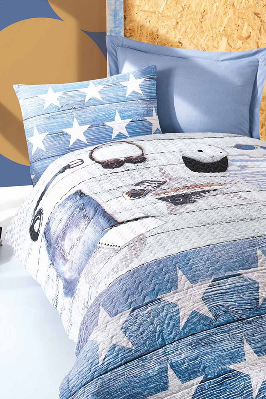 Baby Quilt Cover Set Cotton box Baby Quilt Cover Set fashionable soft cotton hat for 0 3 years old baby navy