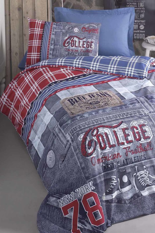 Ranforce Young Quilt Cover Set Cotton box Ranforce Young Quilt Cover Set кардиган seventy кардиганы с рукавами