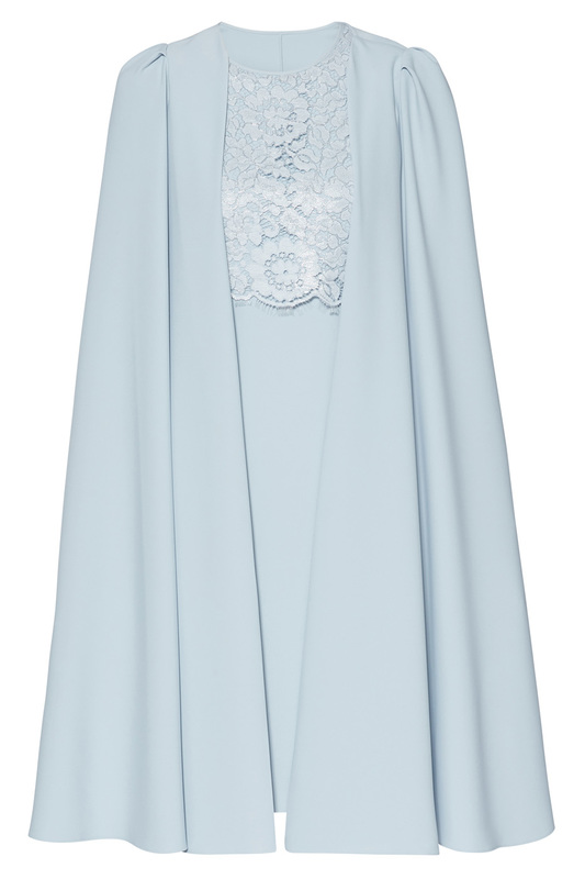 dress and cape Gina Bacconi dress and cape cape love cashmere cape